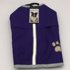 Zack & Zoey Dog Blanket Coat Reversible Sz Medium